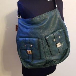 Ralph Lauren leather Hobo Pruse